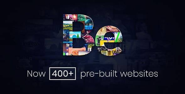 Be - theme / complete functional website from be theme wordpress theme