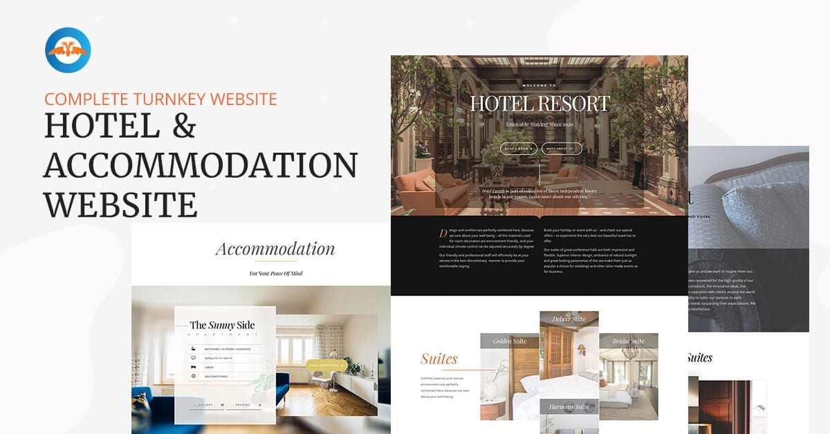 Hotel & Accommodation website