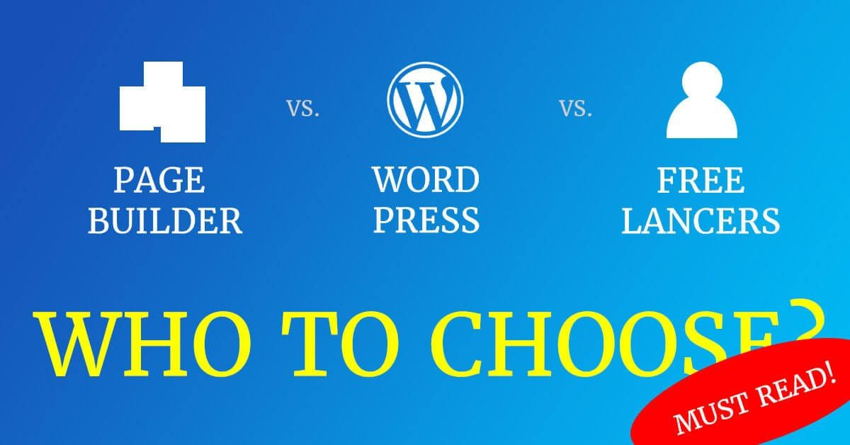 Who and what to choose when you need a professional business website