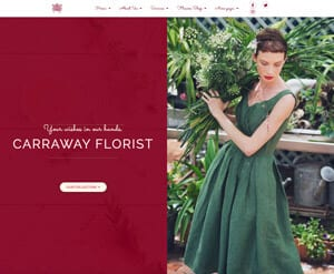 Florist business website